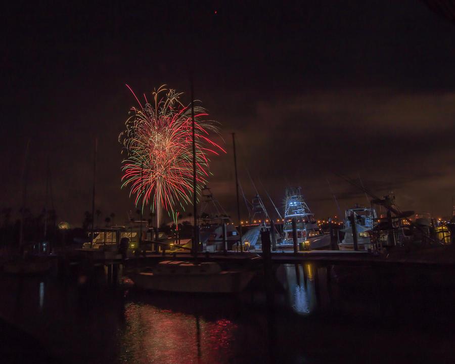 Fireworks, 2018 by Dorothy Cunningham