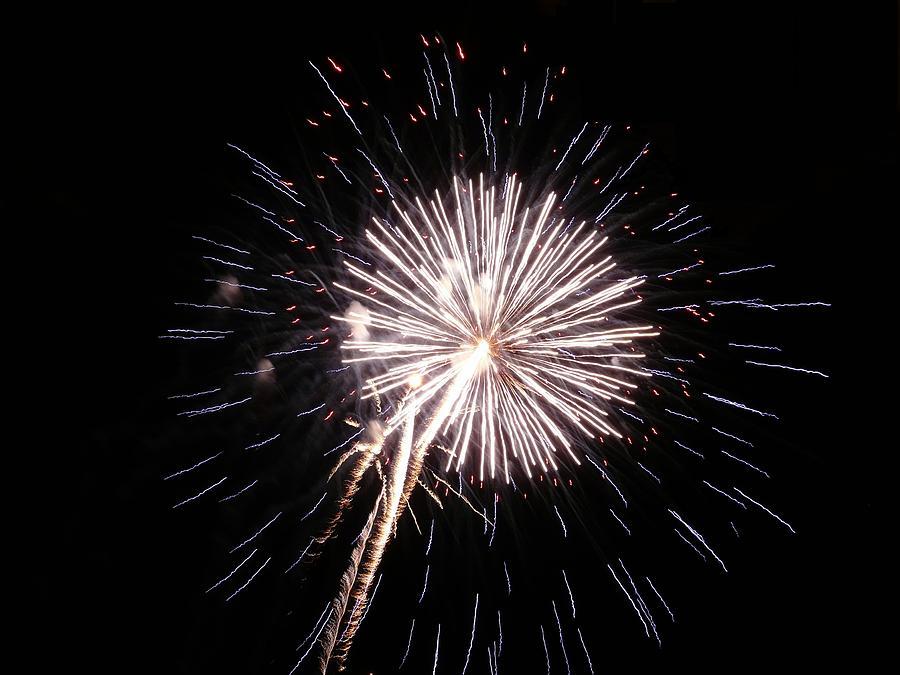 Fireworks Photograph - Fireworks 22 by Kendall Eutemey