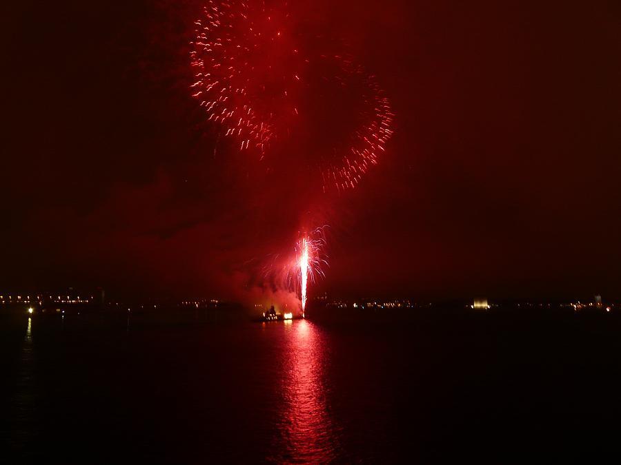 Fireworks Photograph - Fireworks 26 by Kendall Eutemey