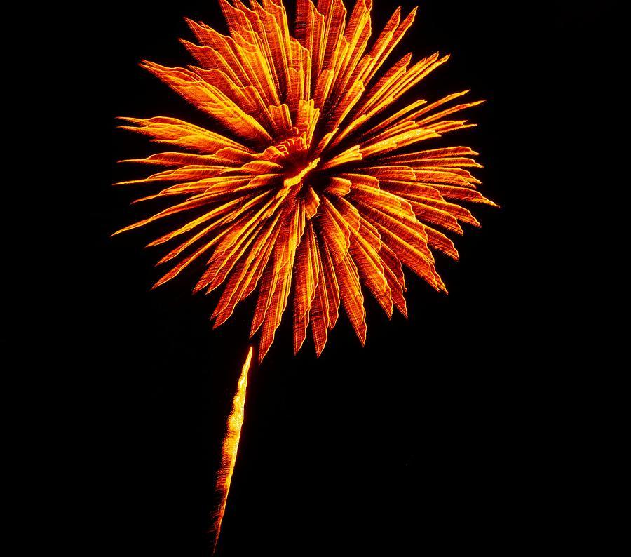 Fireworks Photograph - Fireworks 7 by Kendall Eutemey