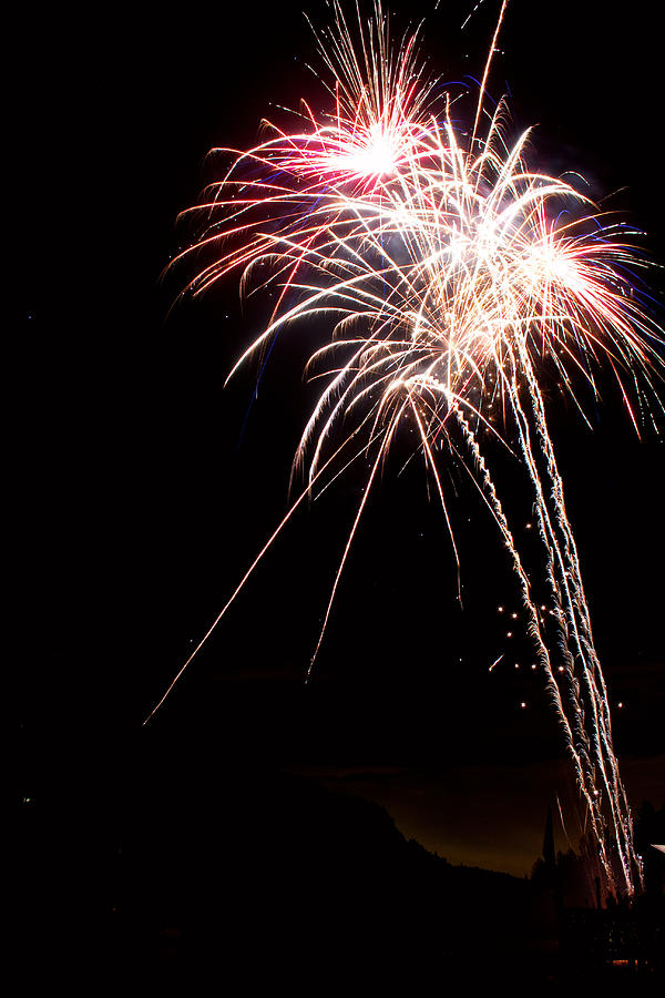 Fireworks Photograph - Fireworks 70 by James BO  Insogna