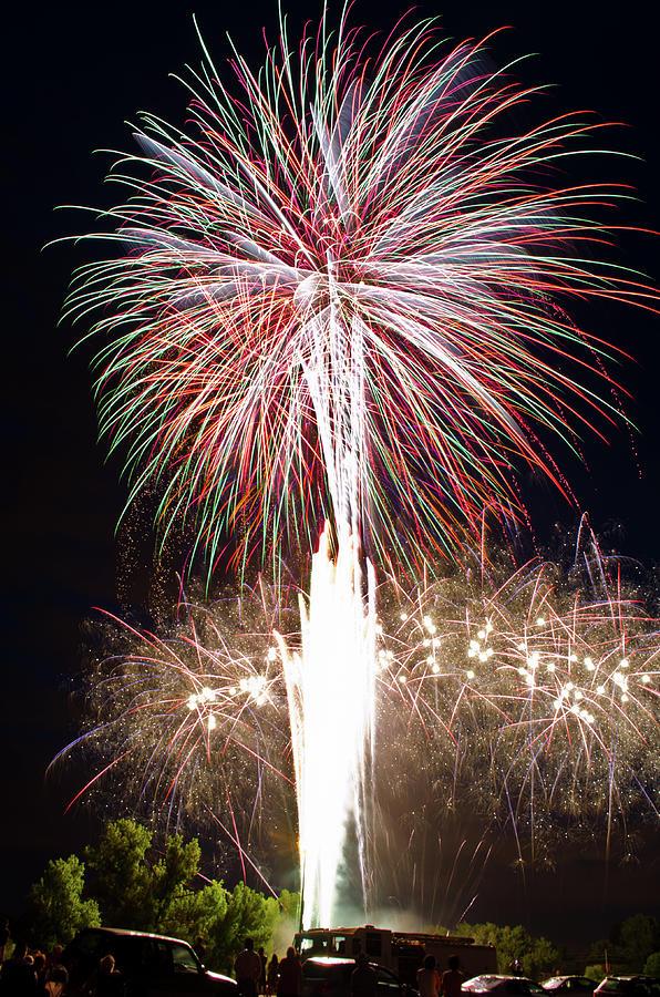 Fireworks Photograph - Fireworks by Ernesto Grossmann