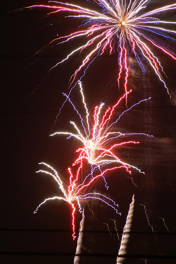 Fireworks Photograph - Fireworks by Heather Green