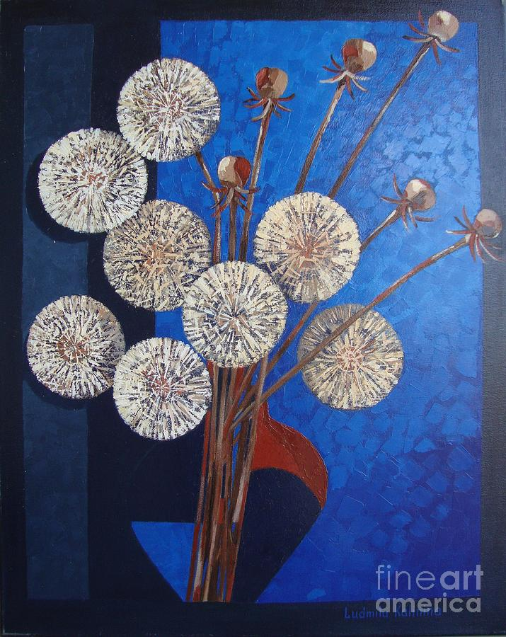 Still Life Painting - Fireworks. by Ludmila Kalinina
