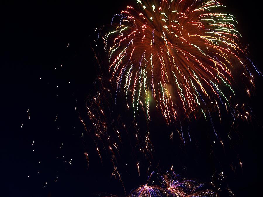 Fireworks Photograph - Fireworks by Rosanne Bartlett