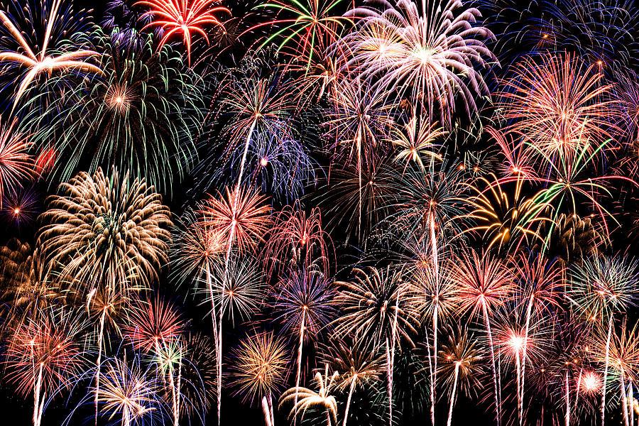 4th Photograph - Fireworks Spectacular II by Ricky Barnard