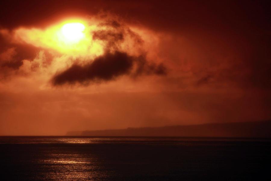 Island Photograph - Firey Island Sunrise by Dan Pearce