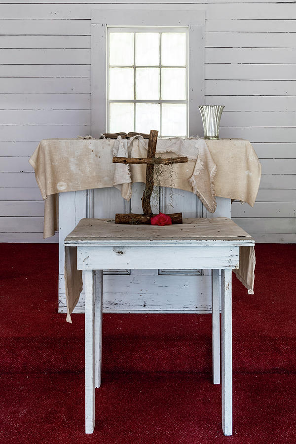 First African Baptist Church Altar, Cumberland Island, Georgia by Dawna Moore Photography