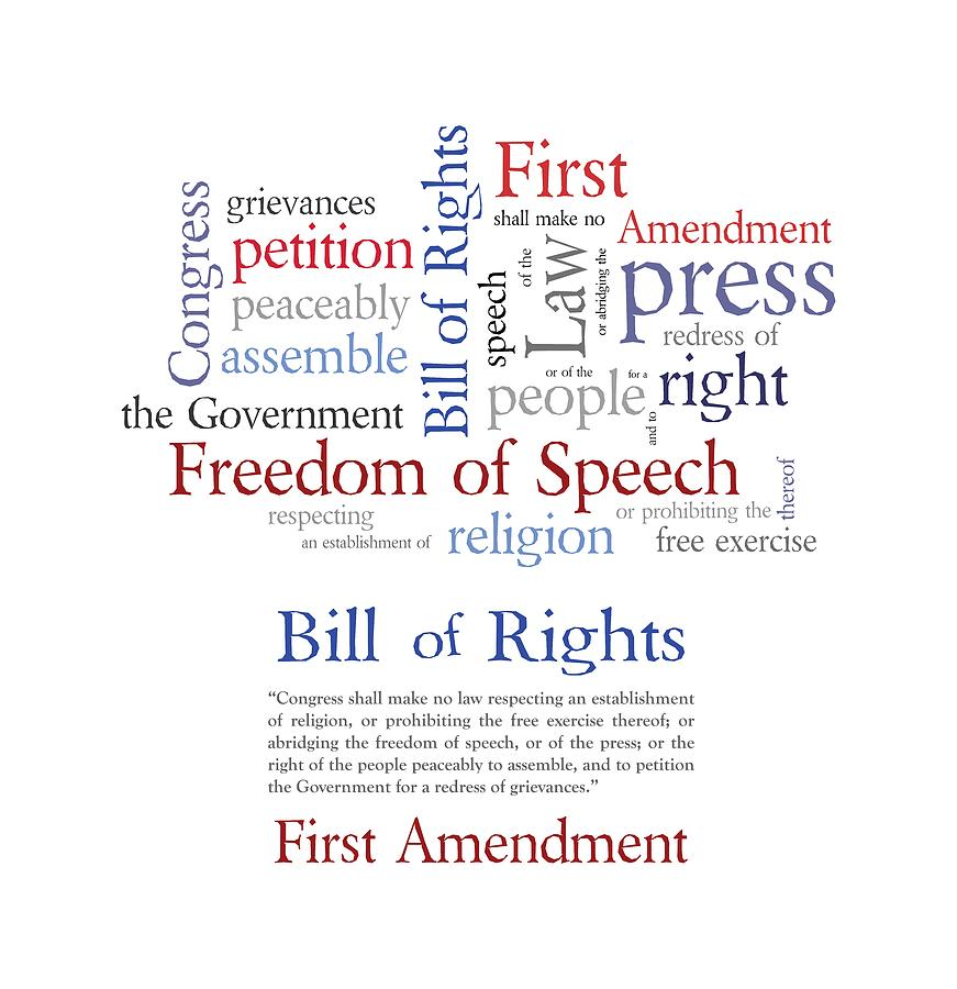 the issue of freedom of speech and the first amendment in the united states A major issue in freedom of speech jurisprudence has been whether the first amendment merely runs against state actors or whether it can run some of the recent issues include: united states military censoring blogs written by military personnel the federal communications commission.