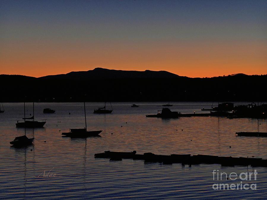 Sunrise Photograph - First Autumn Sunrise Freeze by Felipe Adan Lerma