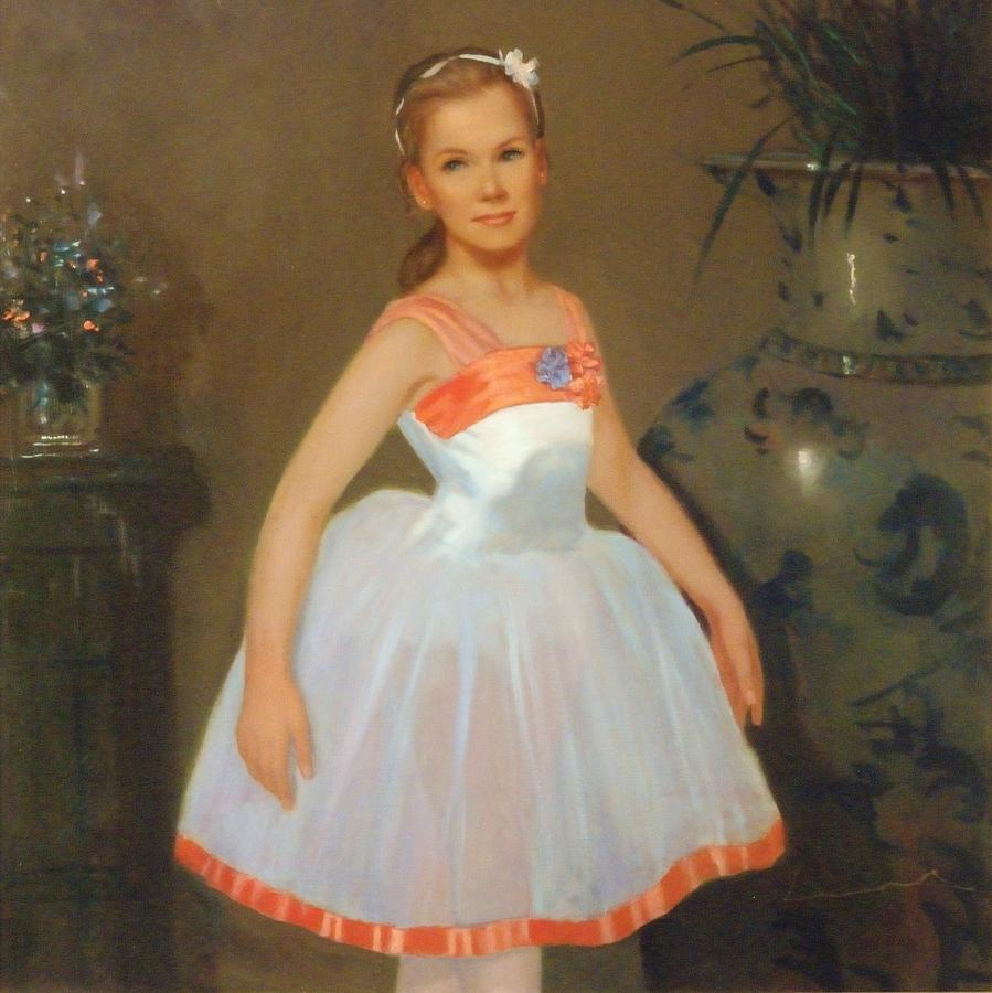 Portrait Painting - First Ballet  Nyc    Nutcracker by David Olander