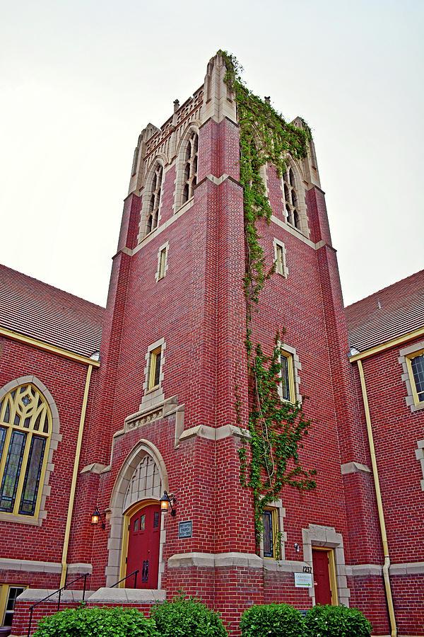 First Baptist Photograph - First Baptist Church Boulder Study 2 by Robert Meyers-Lussier
