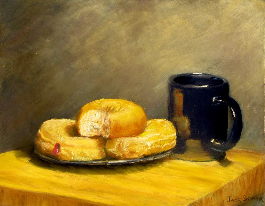 Still Life Painting - First Call...breakfast by Jack Skinner