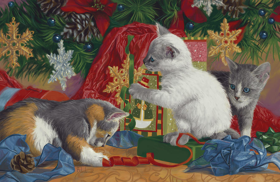 First Christmas by Lucie Bilodeau