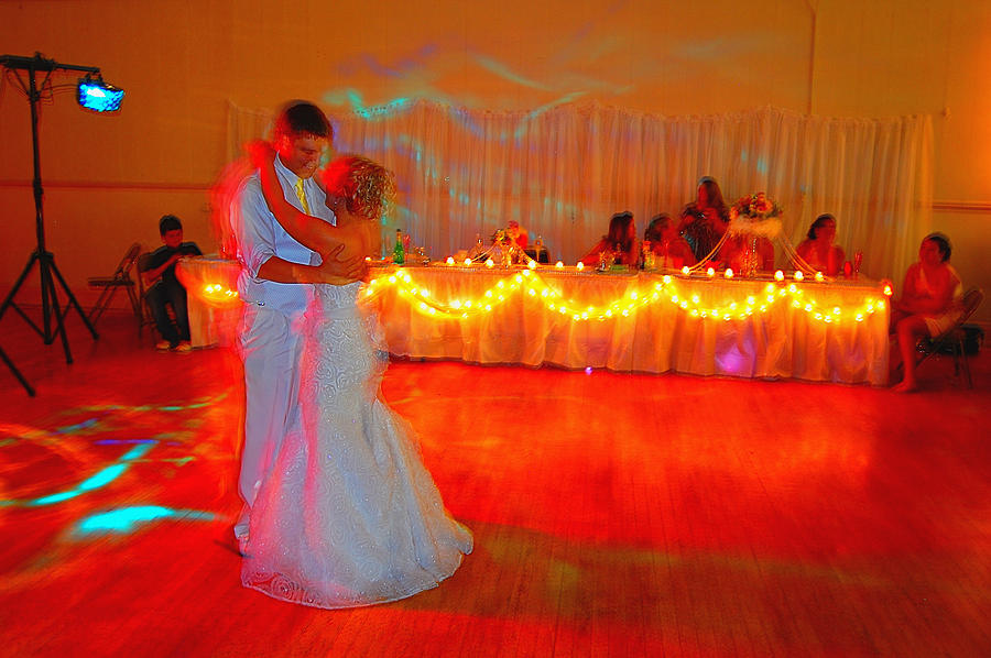 Wedding Photograph - First Dance by Jame Hayes