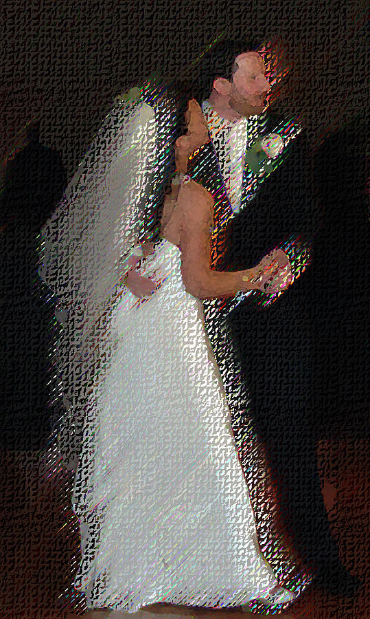 Wedding Digital Art - First Dance by JoAnne Castelli-Castor