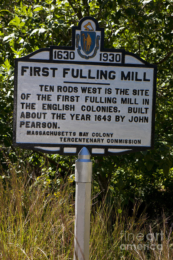 First Fulling Mill Photograph