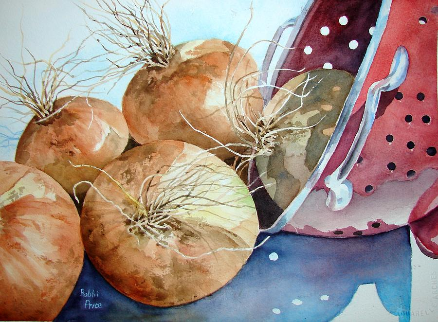 Watercolor Painting - First Harvest by Bobbi Price