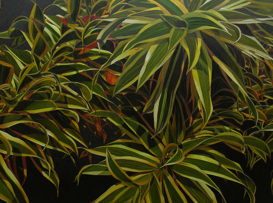 Leaves Painting - First In Cabot by Thu Nguyen