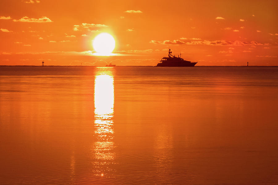 First Key West Sunrise 2018 C by Bob Slitzan