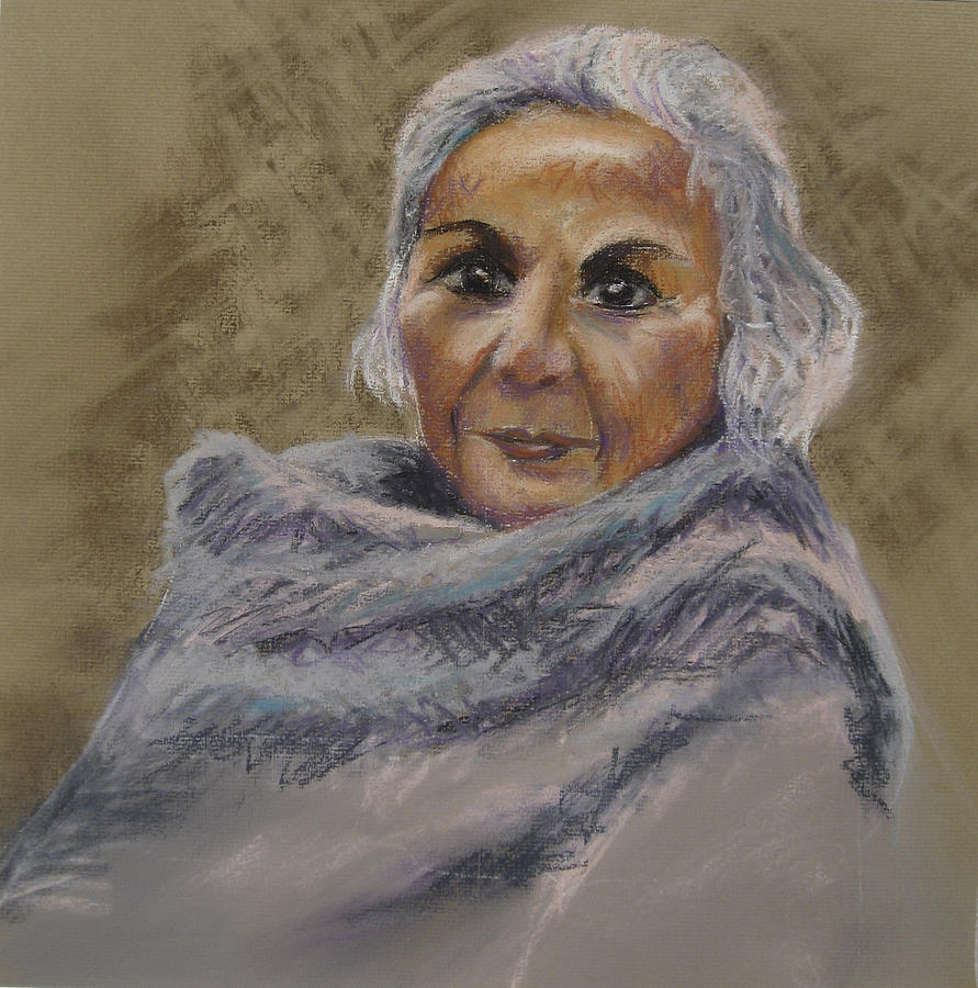Woman Painting - First Lady by Heather Parlane