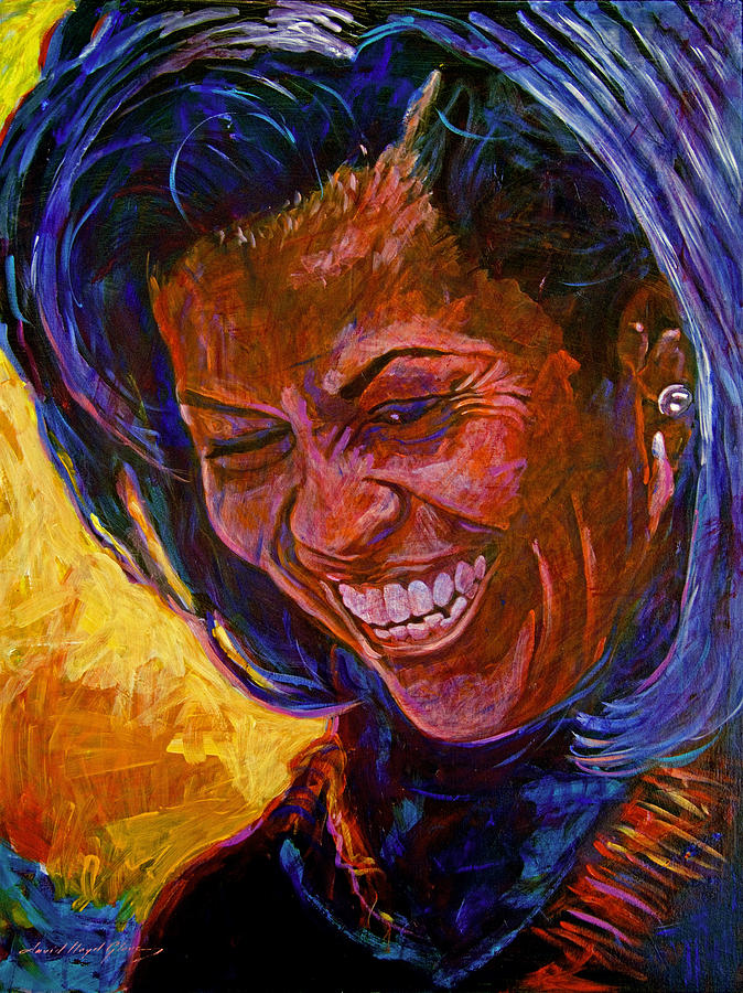Michele Obama Artwork Painting - First Lady Michele Obama by David Lloyd Glover