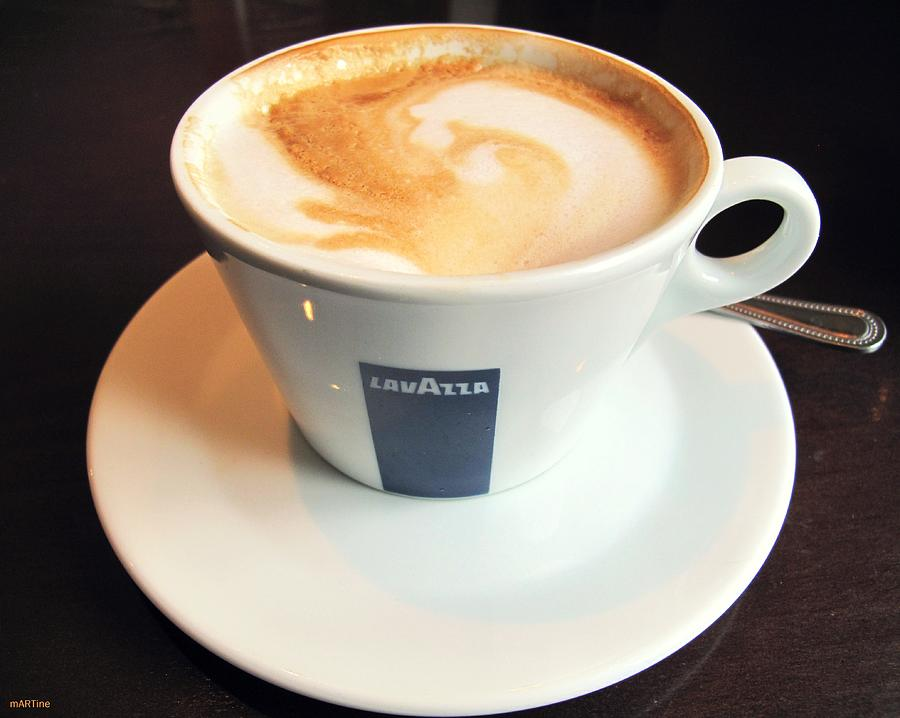 First Lavazza Of The Day Photograph