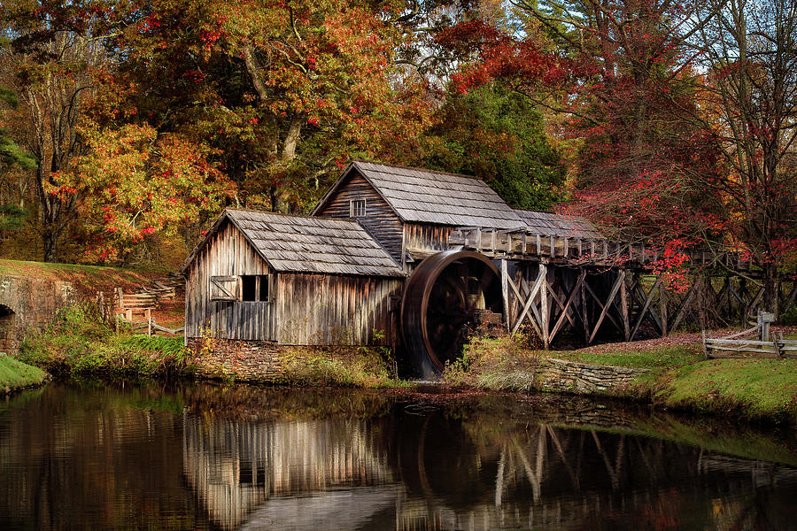 First Light at Mabry Mill by Deborah Scannell