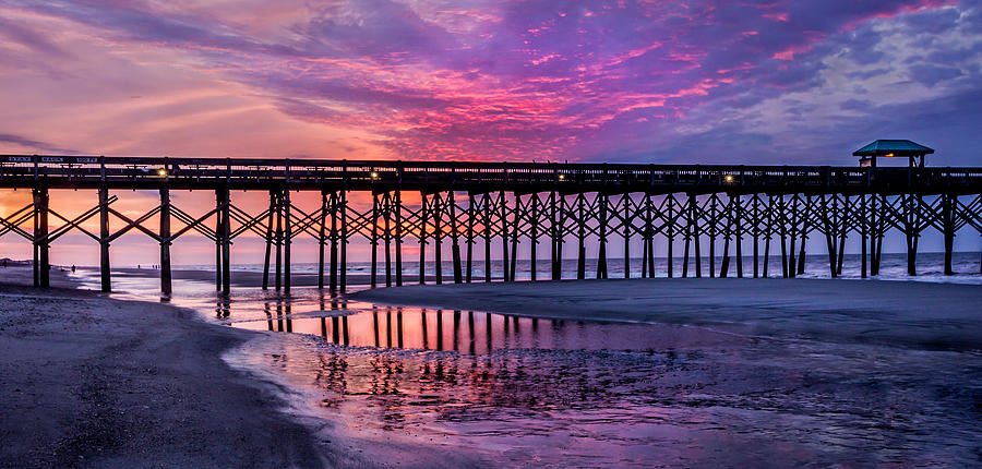 First Light At The Pier Photograph