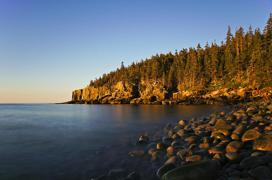 Acadia Photograph - First Light by Brian Kamprath