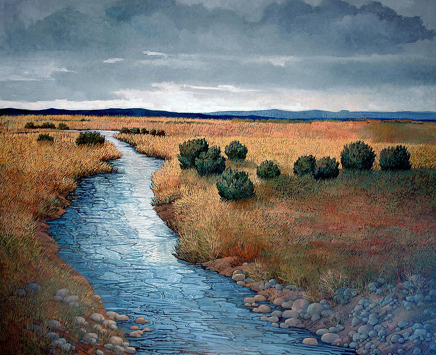 New Mexico Painting - First Light  by Donna Clair