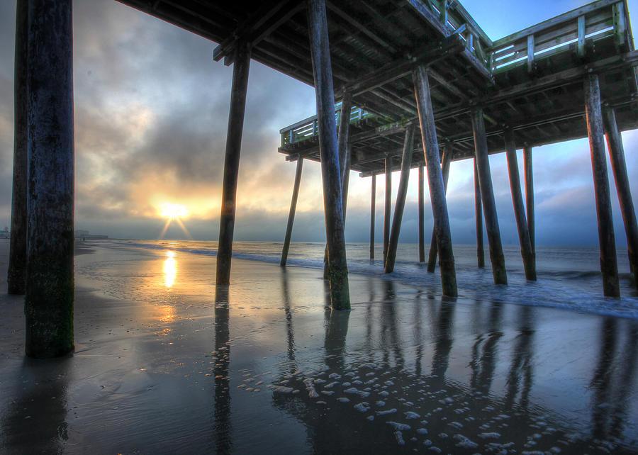 Ocean City Photograph - First Light by Lori Deiter