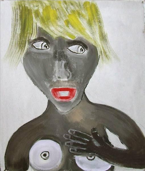 First Meeting Painting by Sveta Sveta