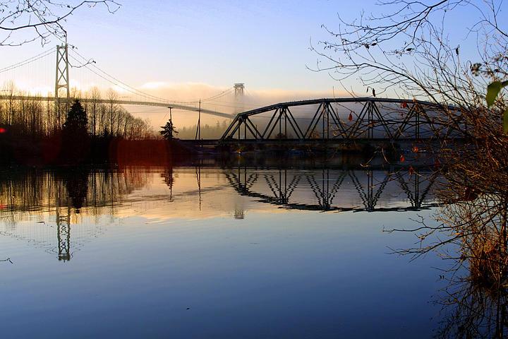 Bridge Photograph - First Narrows by Daniel Kazor