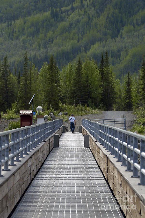 Bridge Photograph - First Steps Down New Roads by Denise McAllister