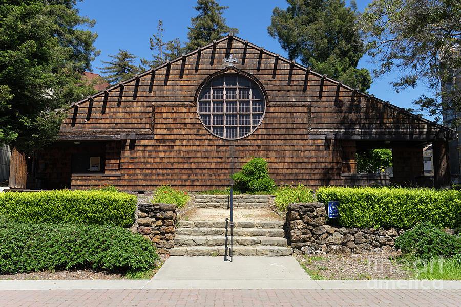 Wingsdomain Photograph - First Unitarian Church Now Bancroft Dance Studio At University Of California Berkeley Dsc6307 by Wingsdomain Art and Photography