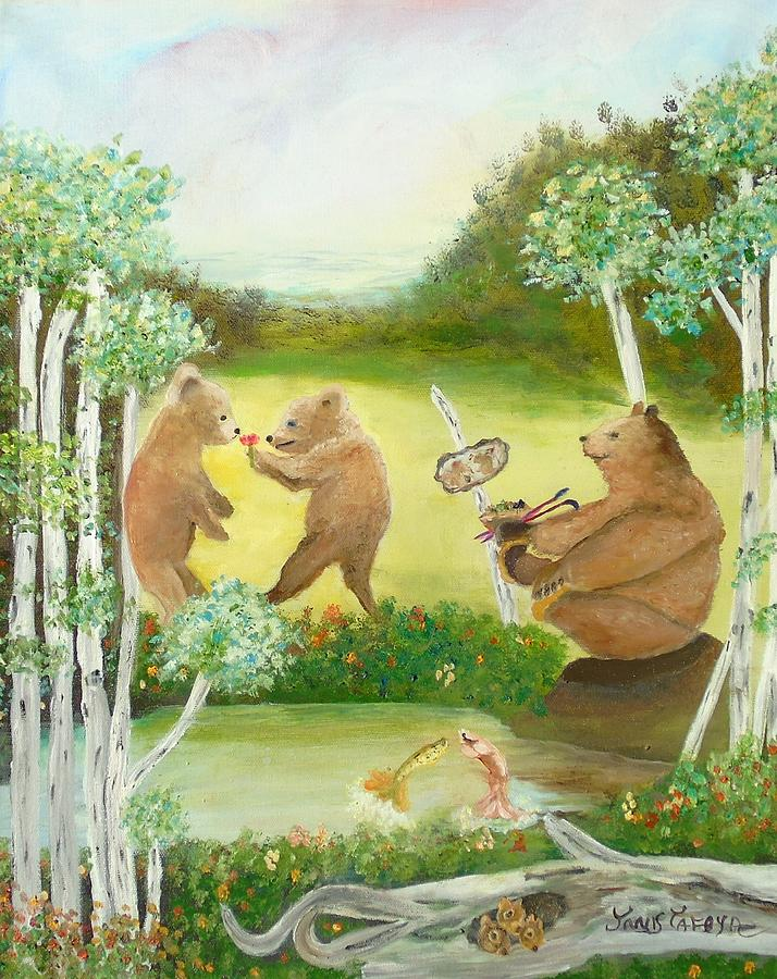 Fish are Jumping Bears are Dancing it is Spring in Colorado by Janis Tafoya