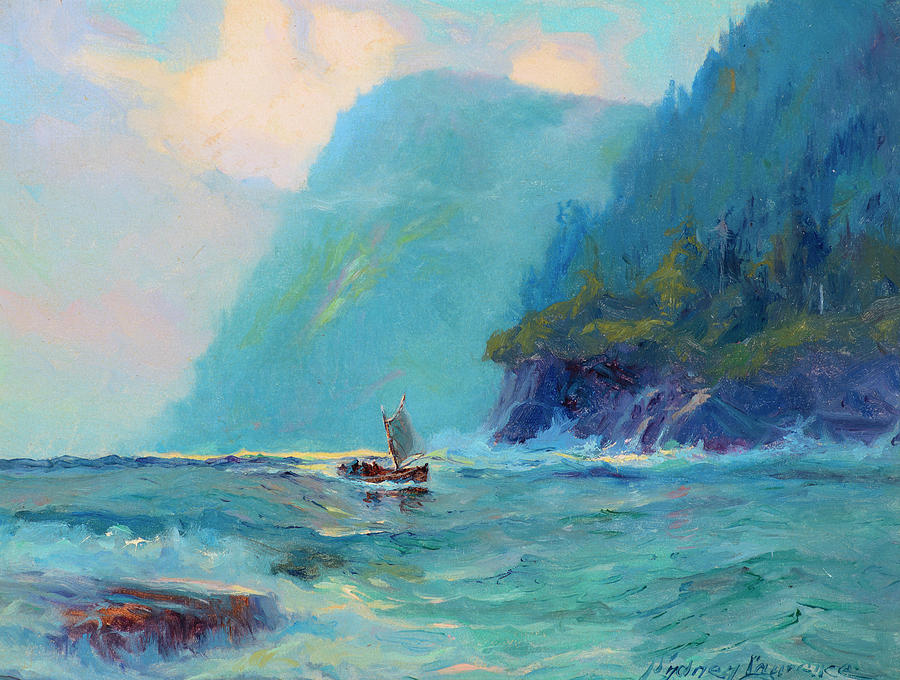 Fish Painting - Fish Boat Marine by Sydney Mortimer Laurence
