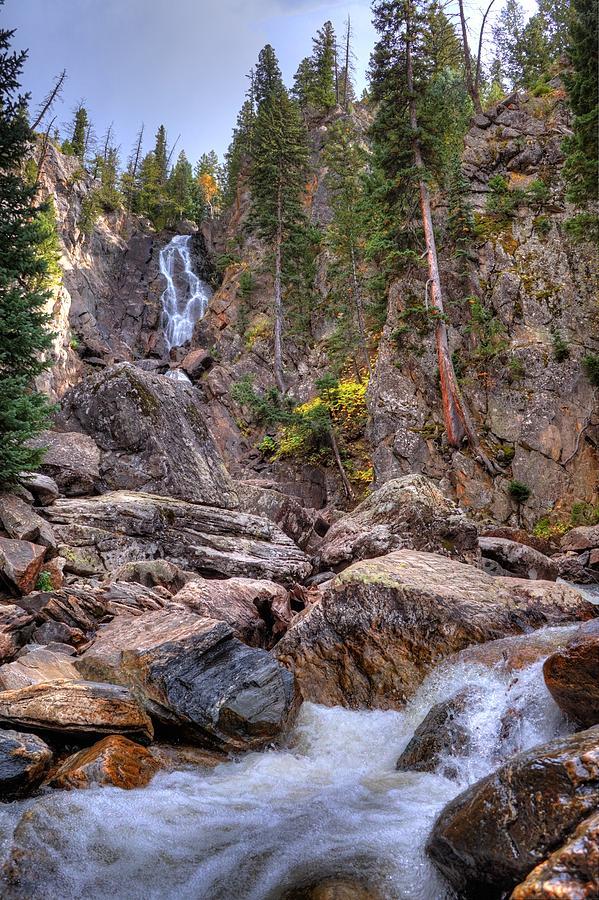Fall Photograph - Fish Creek Fallin by David Ross