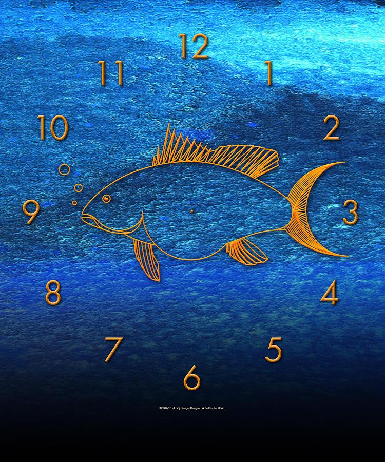 Fish Face 1 by Paul Gaj