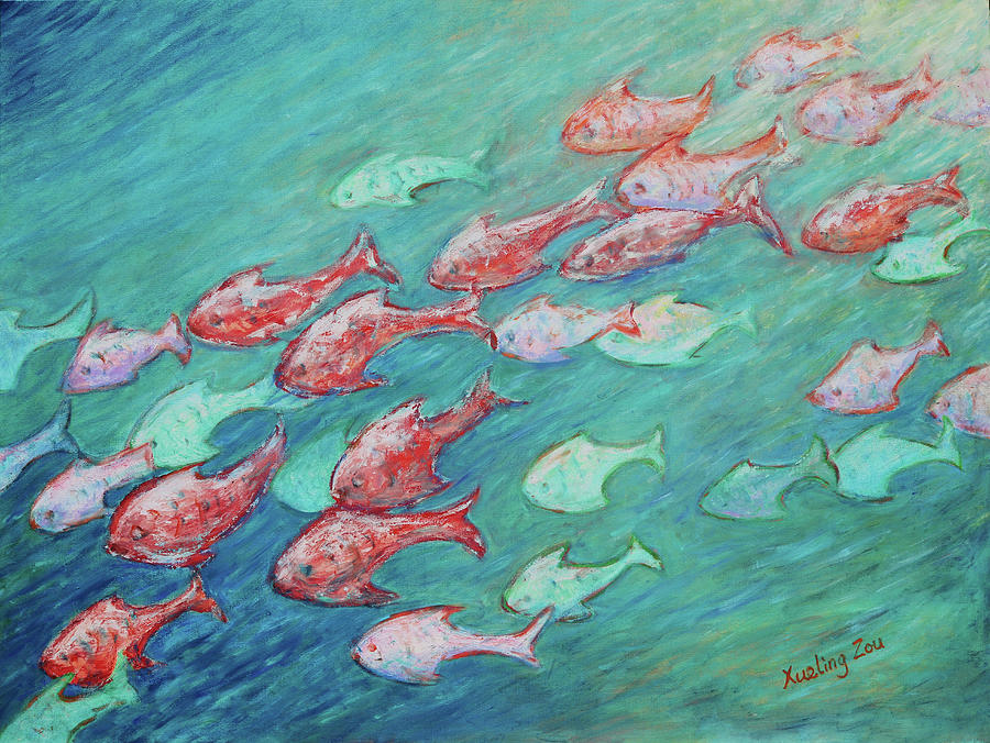 Fish in Abundance by Xueling Zou