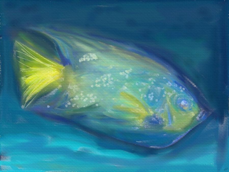 Fish Digital Art by Jennifer Hopwood