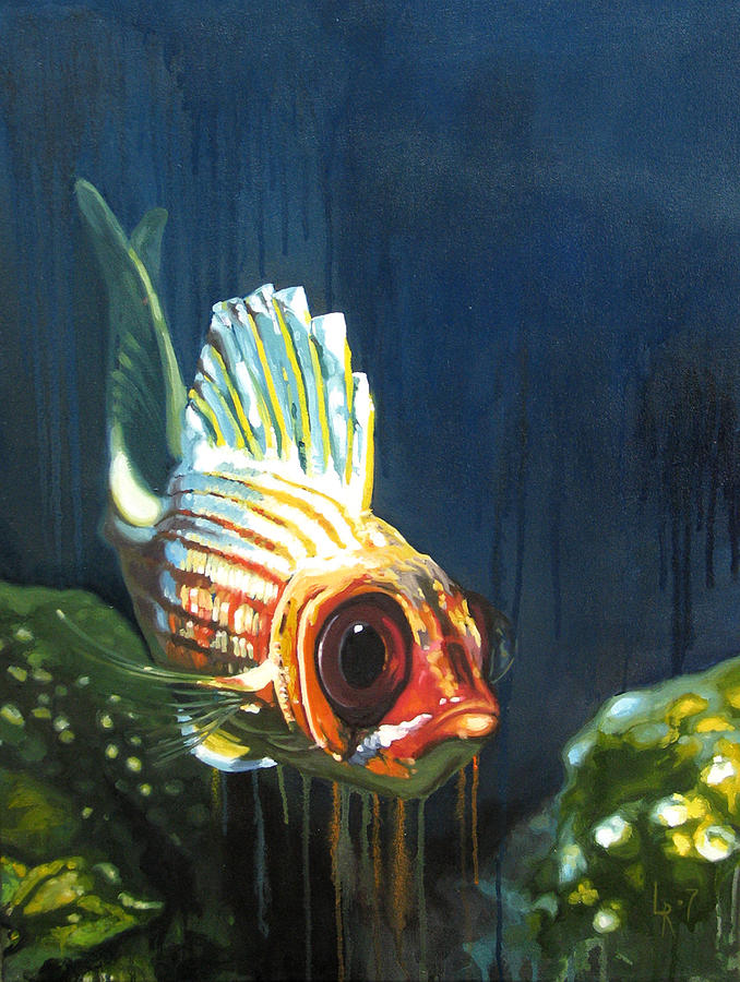 Fish Painting by Lucia Rodriguez
