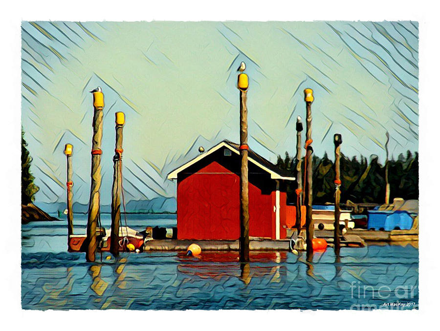Fish shack, Campobello by Art MacKay