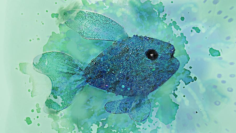 FISH SPLASH  by Pamela Smale Williams