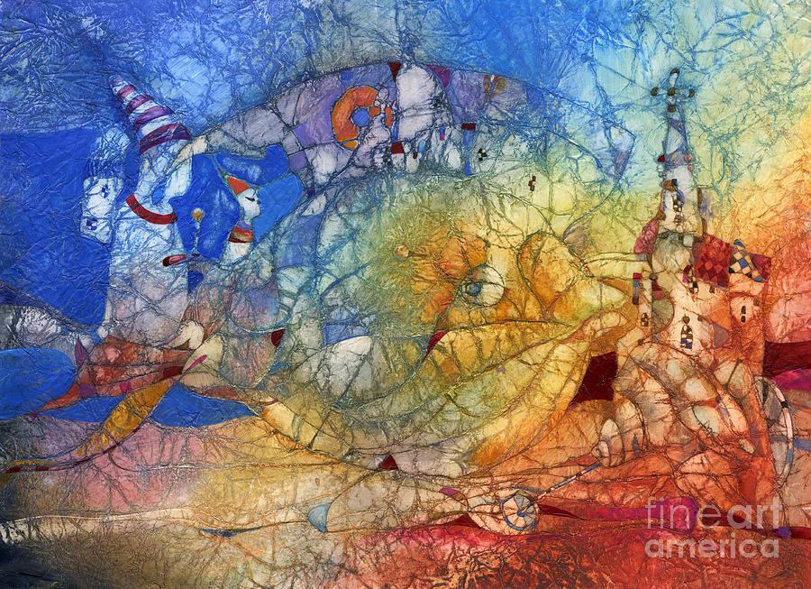 Fish Mixed Media - Fish by Svetlana and Sabir Gadghievs