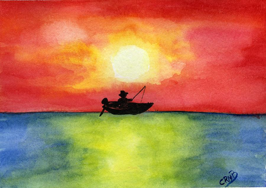 Fisherman by Candace Bailly