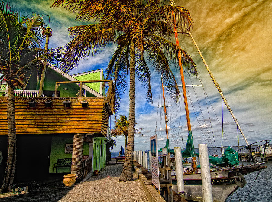 Seascape Photograph - Fisherman Village by Gina Cormier