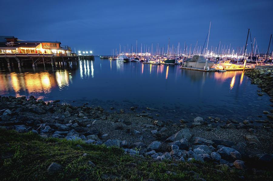 Landscape Photograph - Fishermans Wharf by Margaret Pitcher