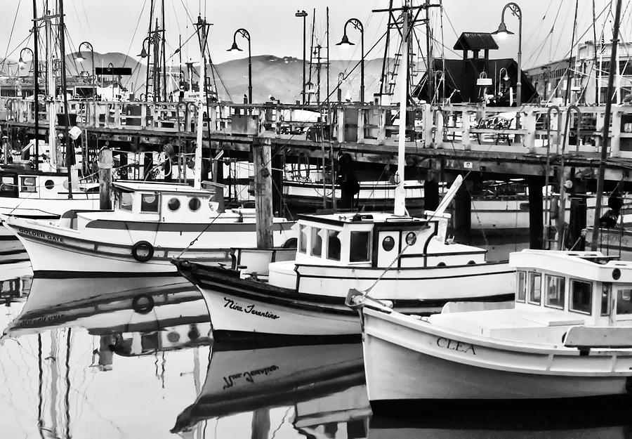 Fishermans Wharf Photograph - Fishermans Wharf by Mick Burkey